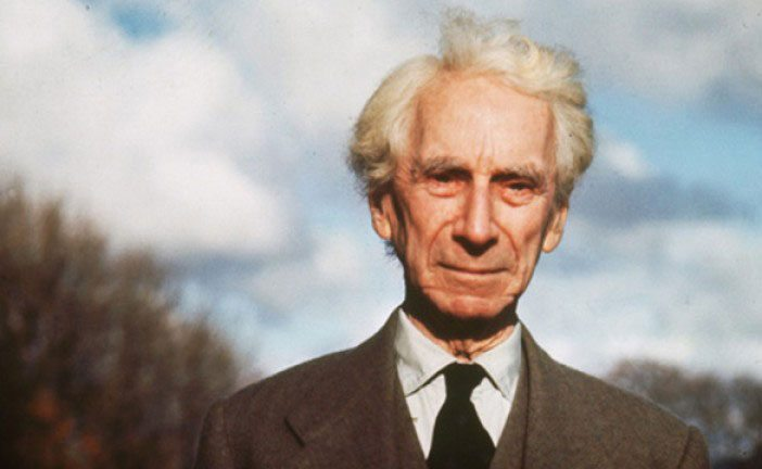 Bertrand Russell's beautiful and succinct summary of what matters ...