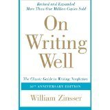 On Writing Well William Zinsser