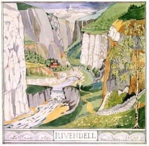 tolkien-original-drawing-rivendell