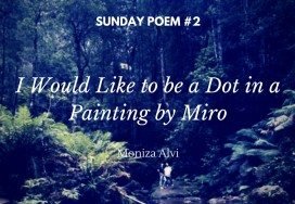 I Would Like to be a Dot in a Painting by Miro